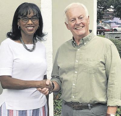 Dr. Leslie McKesson and NC Rep. Hugh Blackwell photo