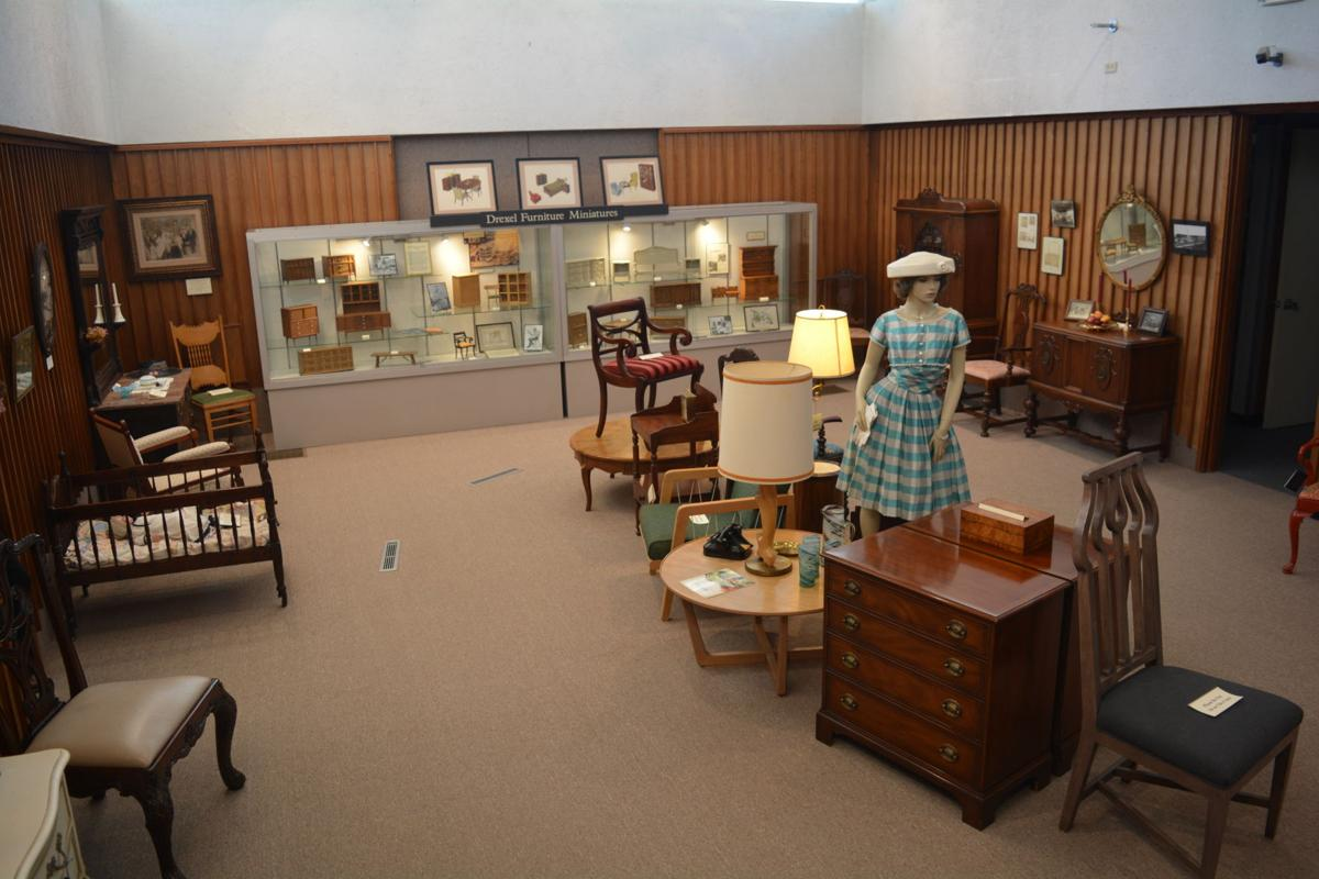 Burke County Furniture Exhibit At The History Museum Gallery