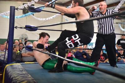 NAWA wrestling show photo