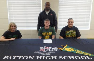 Patton Tallent signing
