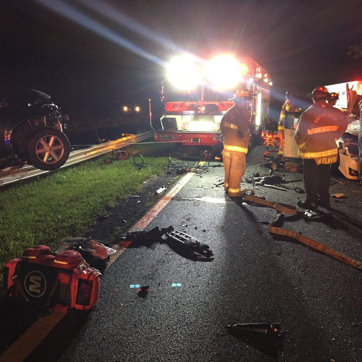 Woman in wrong-way crash last week dies