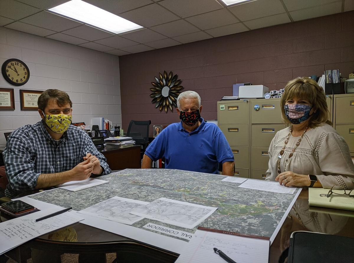 Burke River Trail Drexel meeting photo