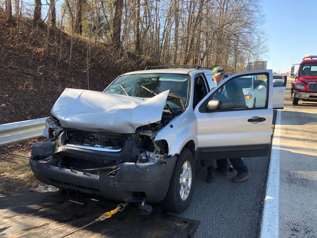 3-car crash slows post-holiday traffic   News   morganton com