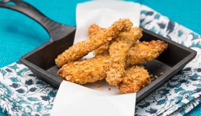 Recipe of the Day: Gluten-Free Chicken Strips