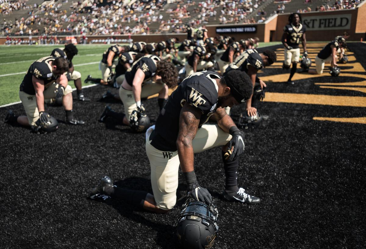 Wake Forest S Football Team Has Almost All Of Its Players Back In Winston Salem Nearing Completion Of Three Phase Process Sport Morganton Com