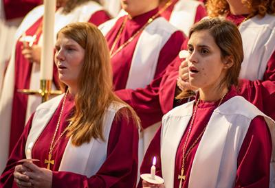 Lenoir-Rhyne University A Capella singers photo