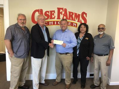 Case Farms writes $100,000 check to NCSSM