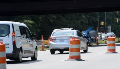 Generic road construction photo