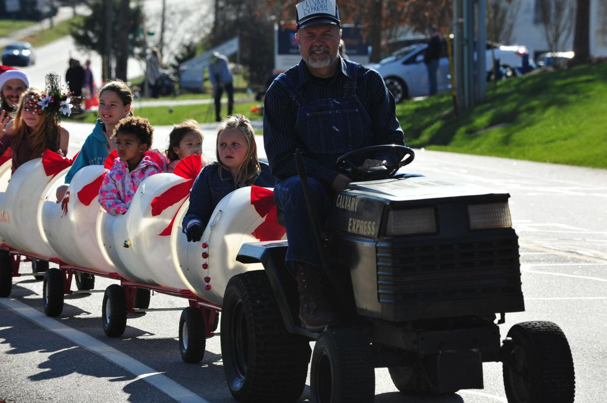 Rutherford College Christmas Parade 2021