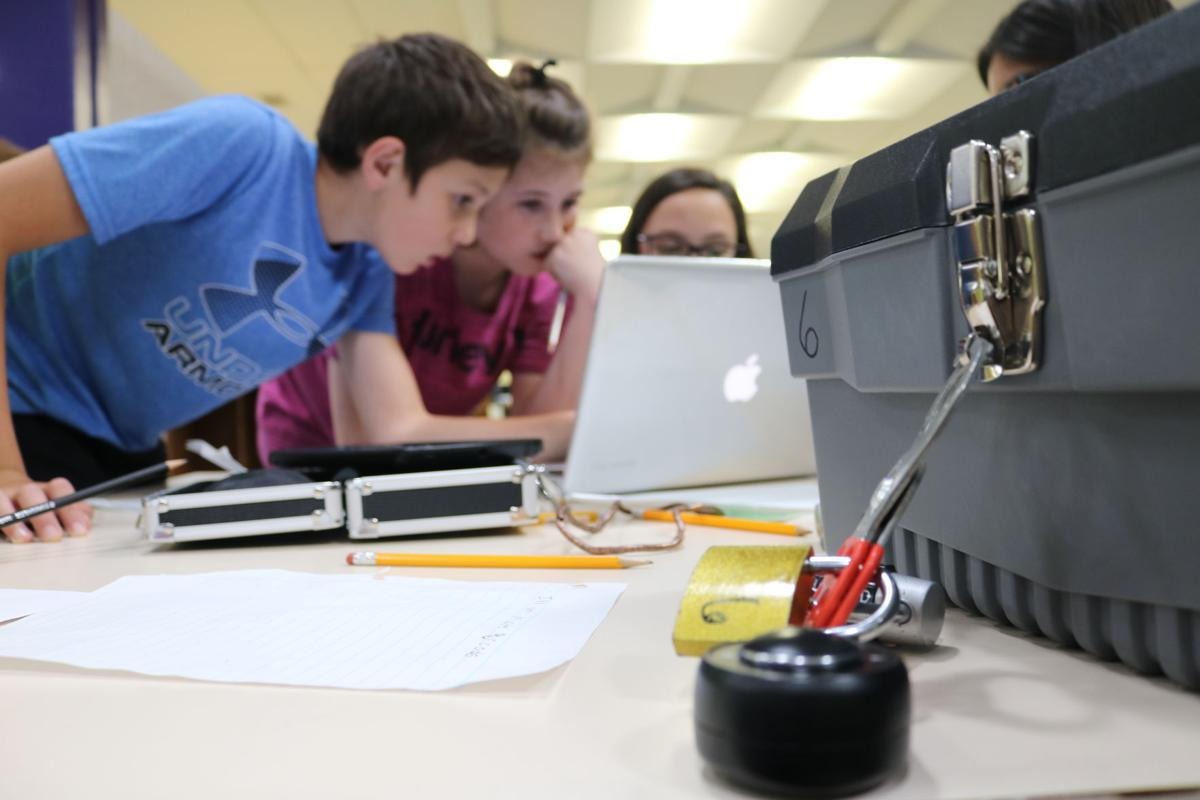 Students cracking codes in learning | News | morganton com