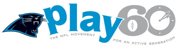 Image result for panthers play60 logo