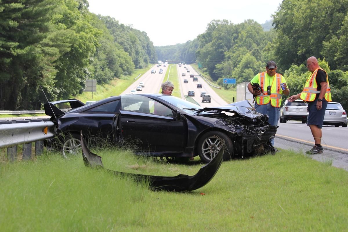 One injured in I-40 wreck   News   morganton com
