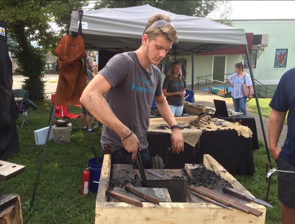 Raleigh Avery at Historic Morganton Festival - pic 1