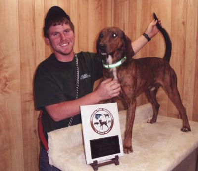 Burke man, hunting dog win award   News   morganton com