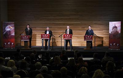 GOP debate in SUB ballrooms