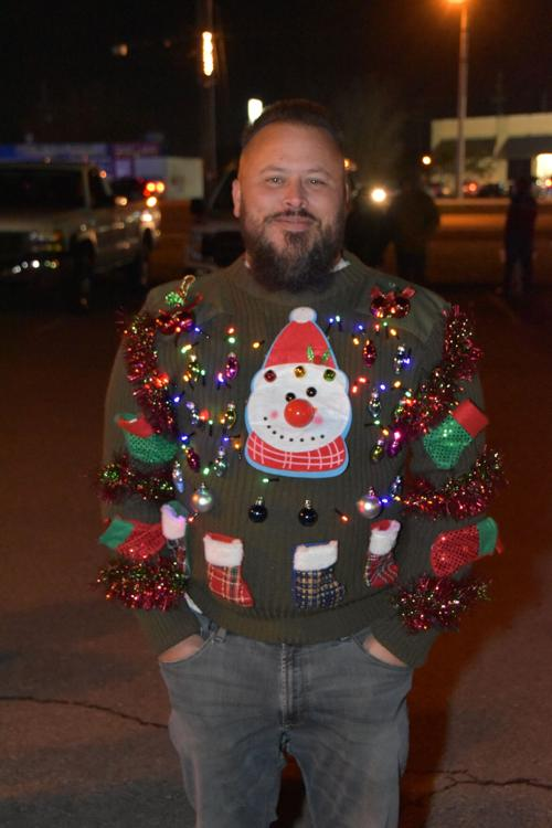 La Vergne Christmas Parade 2021 A La Vergne Parade Of Lights Spectator Shows Off His Ugly Christmas Sweater Which Included Flashing Lights Murfreesboropost Com