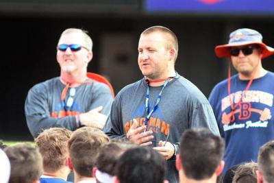 Blackman football coach Hartsfield leaving for Mt. Pleasant