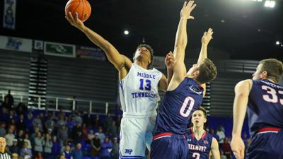 MTSU men rally but can't hold off Belmont in 71-59 loss