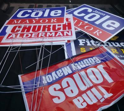 election sign controversy flares up in la vergne community