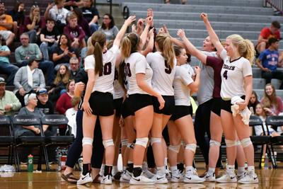 Eagleville volleyball team wins district tournament
