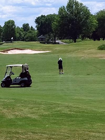 Golfers returning to area courses
