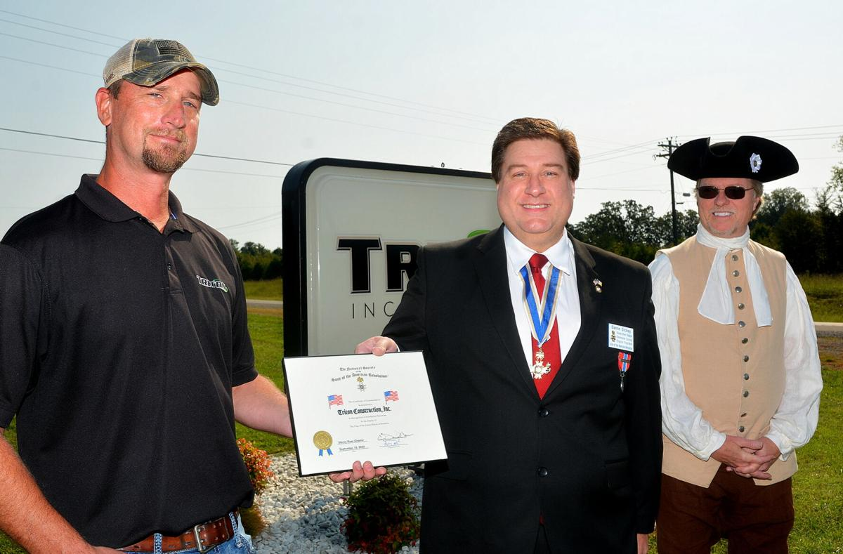 Triton honored for its U.S. flag