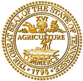 Tennessee State Seal - ONLINE ONLY