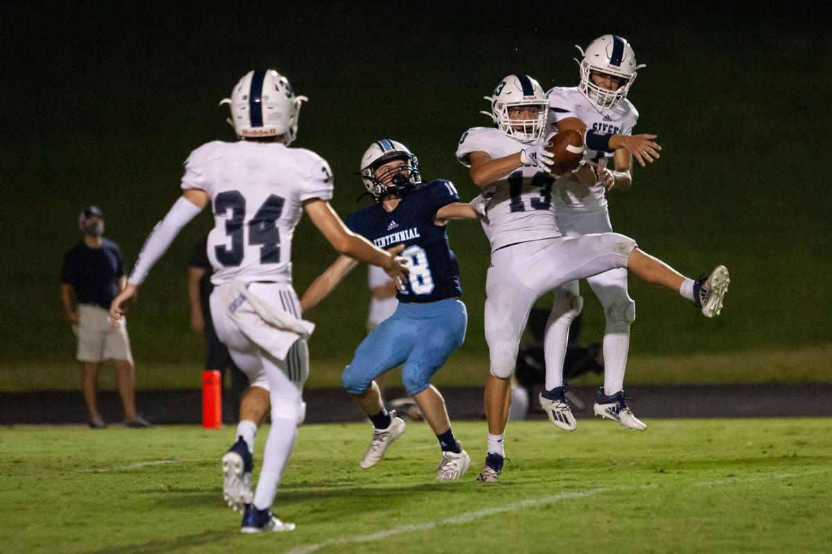 Centennial picks up first win with 24-7 victory over Siegel