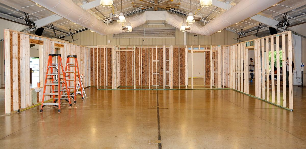 A new home for Demetrice is coming along thanks to the THREE Rotary Clubs of Rutherford County