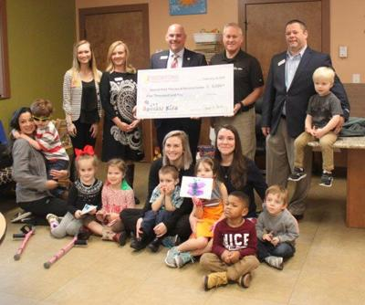 Redstone raises $10,000 for children and families