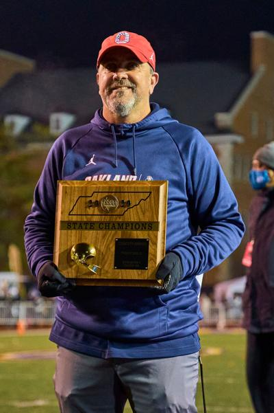 Oakland's Creasy Rutherford County Sports Person of Year