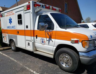 Rutherford County EMS ambulance
