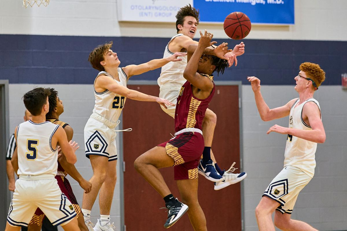 Riverdale boys pull away to beat PCA 60-37