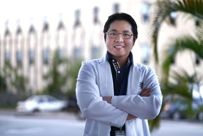 Doctor returns to serve Guam in time of need