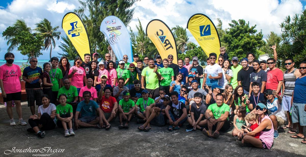 TRAC 5th Saipan Duathlon participants