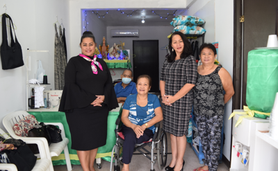 OVR helps dressmaker open shop in San Roque