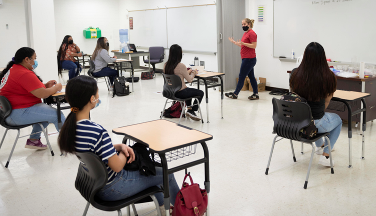 Northern Marianas College's  spring semester started last week. Classes are held both in person and online.