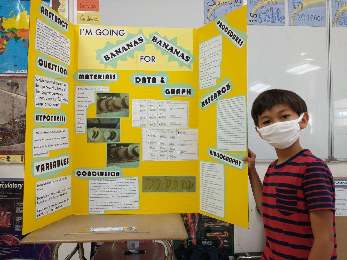 Saipan Community School holds Science Fair 2021 - Jose Sablan