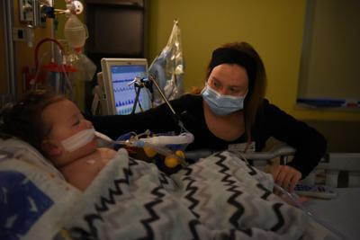 Inside a Covid ward in a St. Louis children's hospital