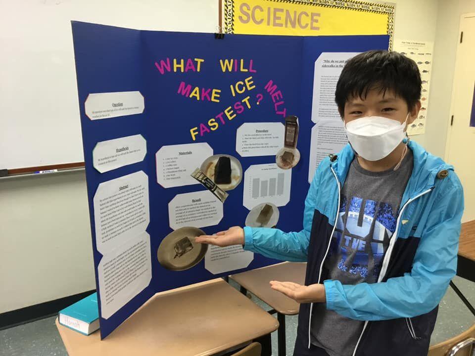 Saipan Community School holds Science Fair 2021 - Joshua Yoo