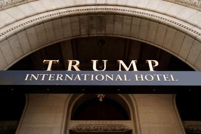 The Trump International Hotel is seen in Washington