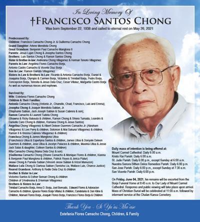 † Francisco Santos Chong