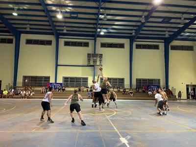 Tinian basketball