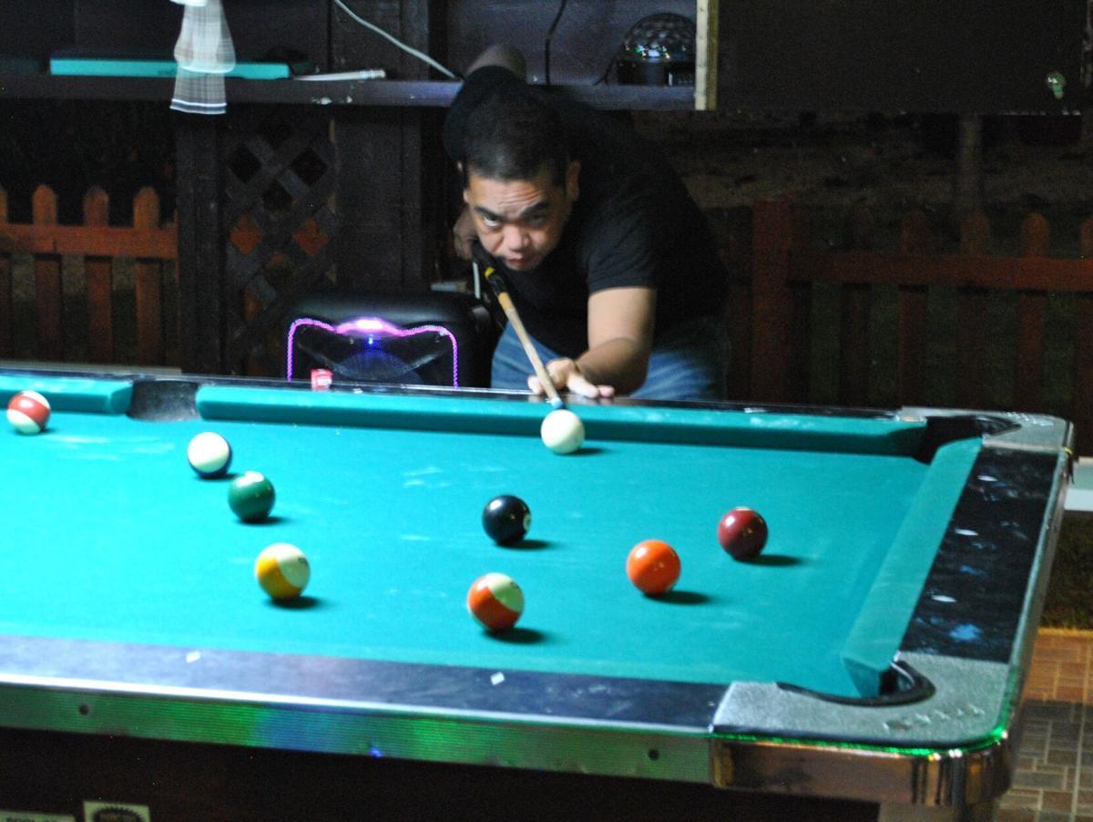 Nolan Cultura tops Christmas pool tourney