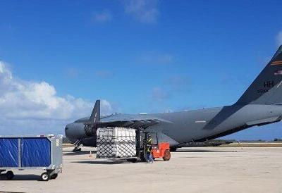 NMI gets supplies for field medical hospital