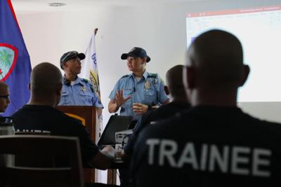 10 Guam Police Department recruits test positive for Covid-19, training suspended