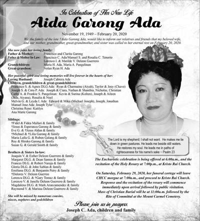 Aida Garong Ada