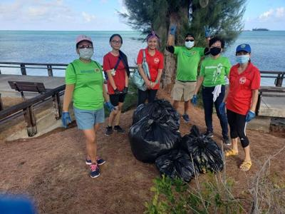 Saipan Marianas Lions Club, Friends of CW conduct cleanup drive