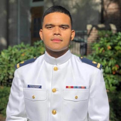 Tinian native now a US Coast Guard ensign