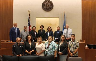 freshman lawmakers with judicial officials